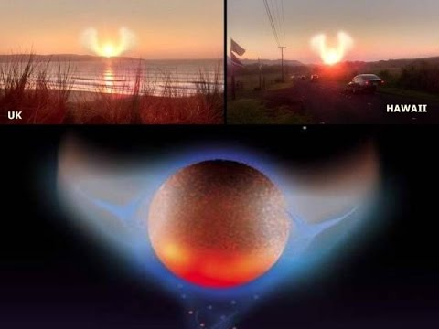 Nibiru Nemesis Photographed With Wings -Warning Signs of Approaching System
