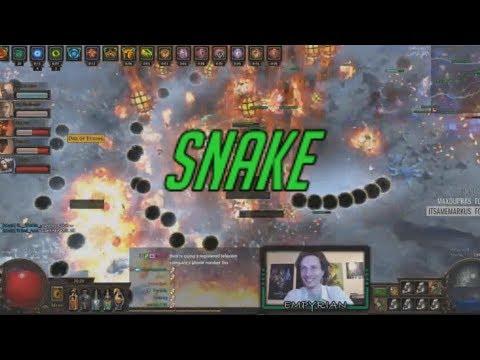 [PoE] Stream Highlights #145 - Snake