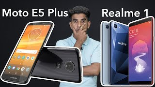Motorola Moto E5 Plus vs OPPO Realme 1: Comparison overview [Hindi हिन्दी]