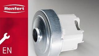 Renfert Maintenance | SILENT compact: Motor change