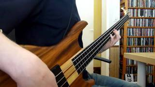 Red Hot Chili Peppers - Subway To Venus [(Fretless) Bass Cover]