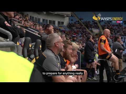 Energy Behind the Team Wasps Kitman Man Part 2