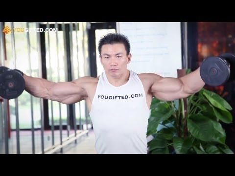Упражнения для плеч. Отведение рук в стороны.