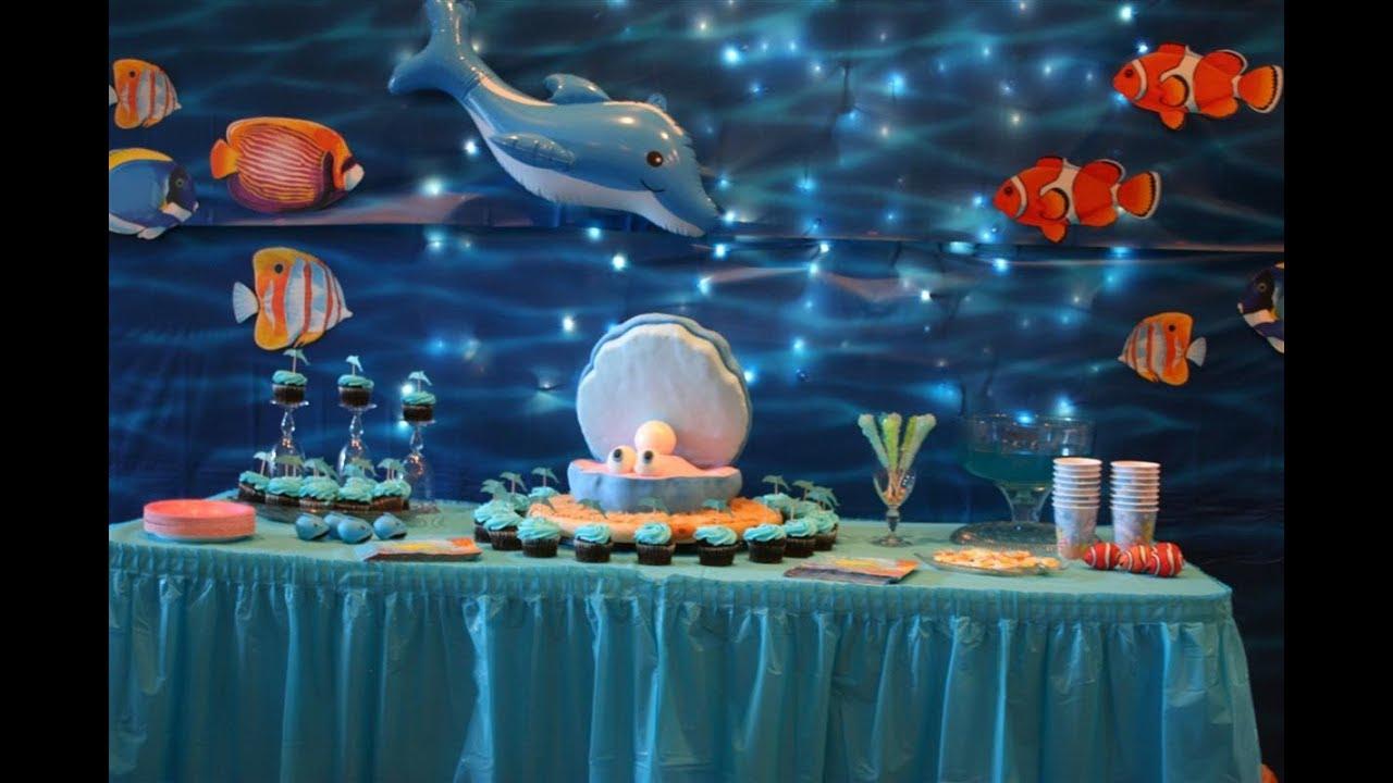 Under Sea Under Water Aqua Beach Theme Birthday Party Organizers