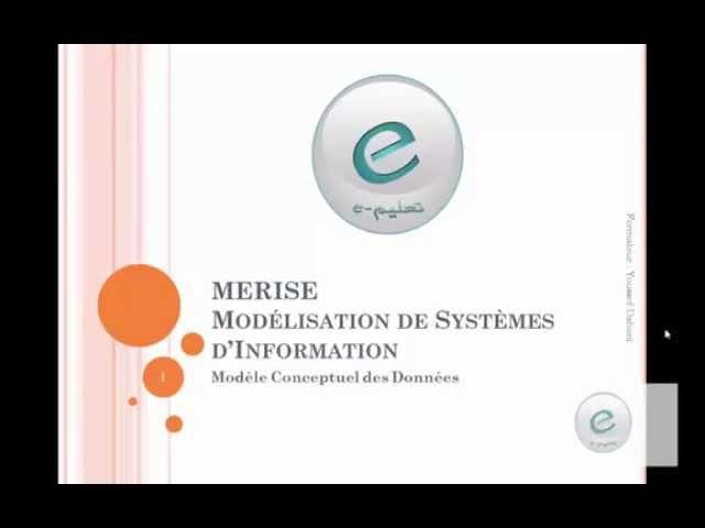 Merise : Modèle Conceptuel de données