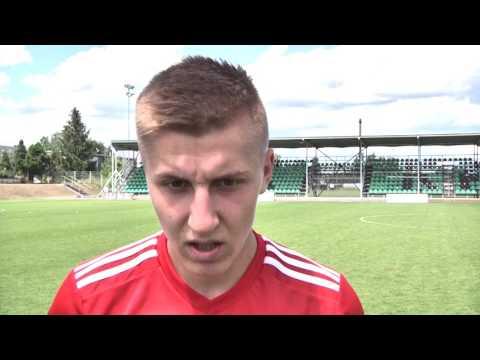 Maciej Ambrosiewicz o meczu sparingowym z MFK Karvina