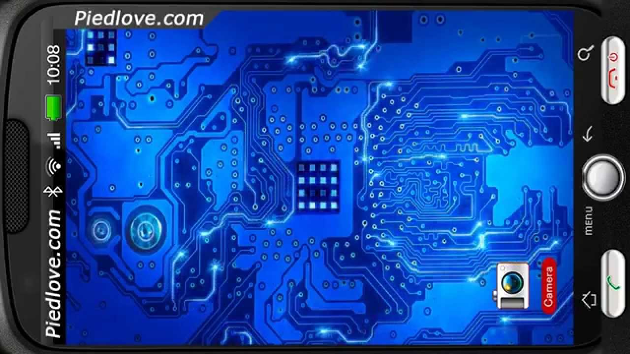 Circuit Board of Digital Sparkling Ways Personalization for Android ...
