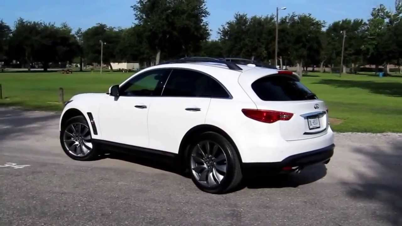 2013 infiniti fx37 review on in wheel time radio