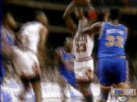 Michael Jordan slam dunk vs New York Knicks - NBA Regular Season 1990/1991