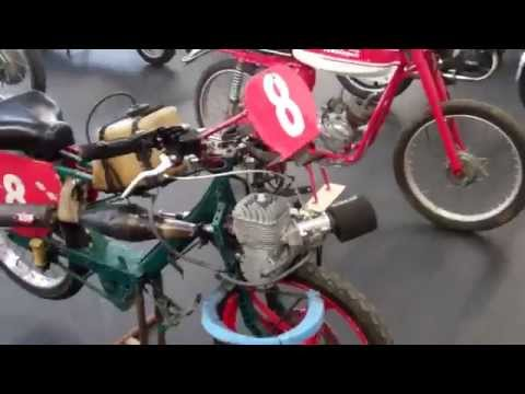 Velo Solex racing watercooled moped race conversion