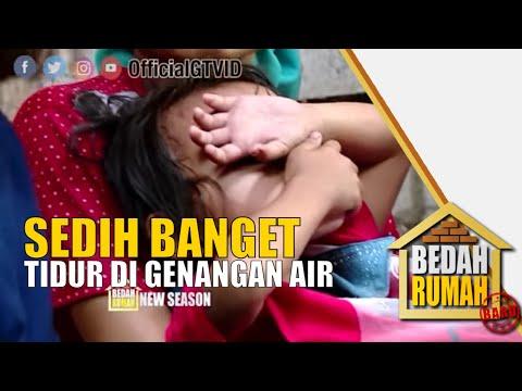 BECEK! Anak Pak Ayur Tidur Di Genangan Air Saat Hujan   BEDAH RUMAH EP 155 (2/4)