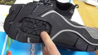 видео Велосипедная обувь Shimano  SH-CT46