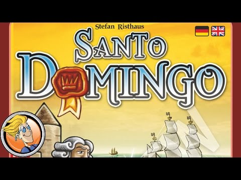 Santo Domingo — game overview at Spielwarenmesse 2017