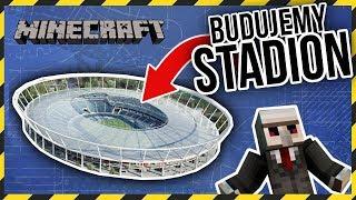 Budujemy OGROMNY STADION w MINECRAFT! w/ ZelaznyPL & Askonn - Na żywo