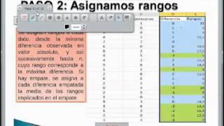 Ejemplo Excel Wilcoxon