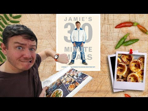 Jamie Oliver 30 Minute Meal attempt (in real time!) | Barry tries #11