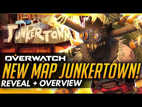 Overwatch | NEW MAP - JUNKERTOWN [Reveal + Overview]