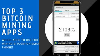 Bitcoin Mining Android Mobile Apps 2017