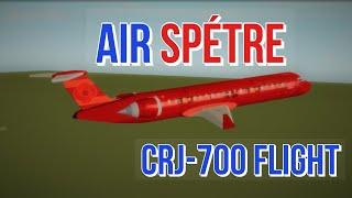 ROBLOX Air Spétre CRJ-700 Flight!