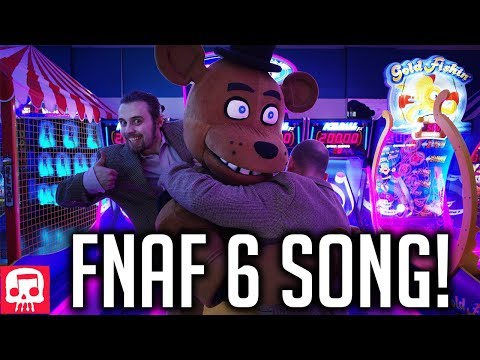 """FNAF 6 Song by JT Music - """"Now Hiring at Freddy's"""" (Live Action Music Video)"""