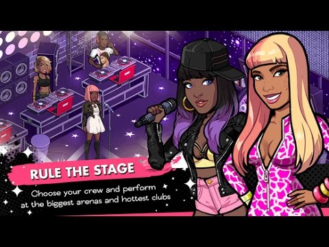 NICKI MINAJ THE EMPIRE iOS Gameplay Trailer