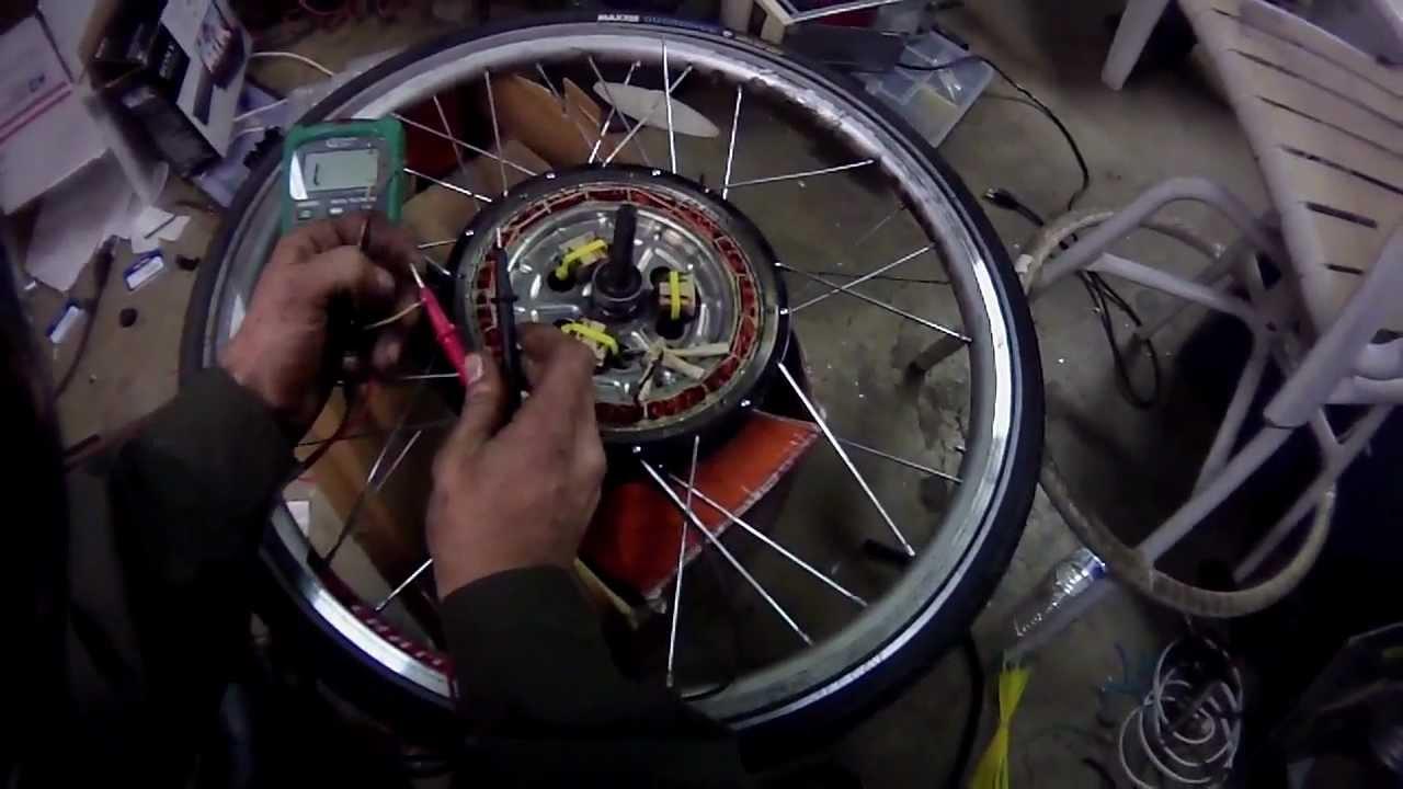 1000 Watt Electric Bike Hub Motor Internal Relay Star