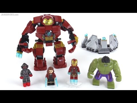 LEGO Marvel Super Heroes The Hulk Buster Smash review! set 76031 ...