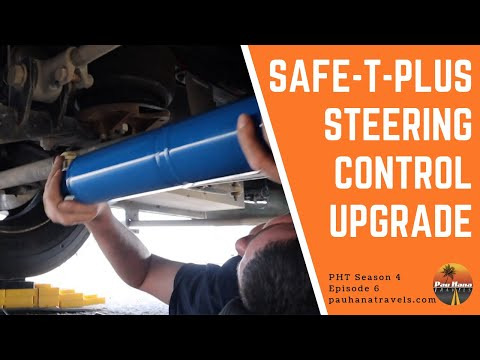 Safe-T-Plus Steering Control Upgrade for our Class A Motorhome