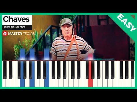 💎 Chaves - Tema de Abertura EASY  Piano Tutorial 💎