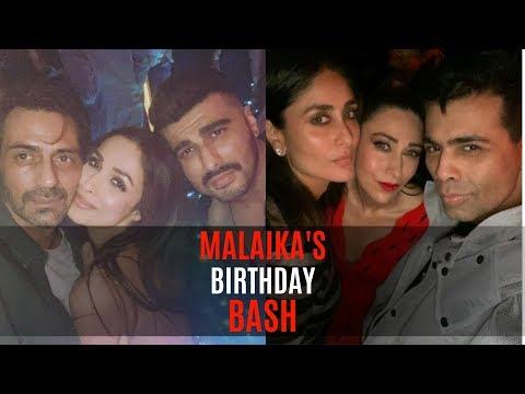 Malaika Arora parties the night away with Kareena Kapoor Khan, Arjun Kapoor & girl gang | SpotboyE Mp3