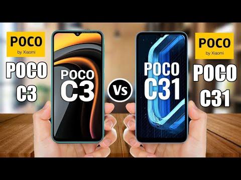 Poco C3 Vs Poco C31