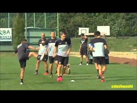 FC INTERNAZIONALE MILANO - Parte 1: Preparazione Atletica Stagione 2012/2013