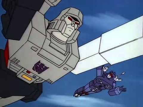 Transformers G1 (Español Latino): Megatrón Crea A Los Stunticons