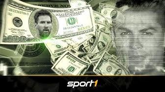 Messi hängt Ronaldo ab - Das sind die Topverdiener des Jahres | SPORT1