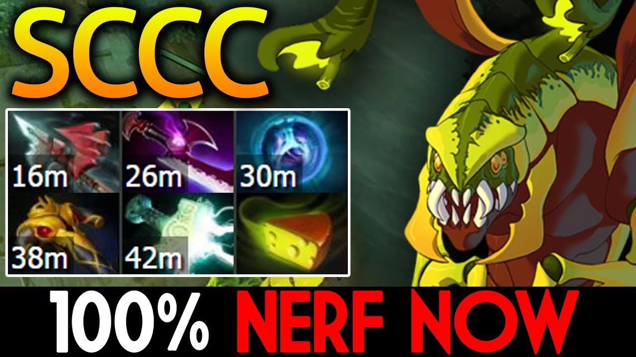 SCCC Dota 2 [Venomancer] 100% Nerf Now !! - YouTube