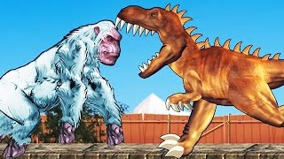 Yeti Rampage (Full Game) - YETI VS. DINO | Eftsei Gaming