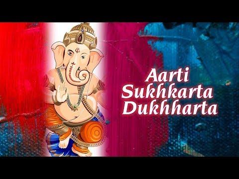 Aarti Sukhkarta Dukhharta   Suresh Wadkar   Shri Ganesh Mantra   Times Music Spiritual