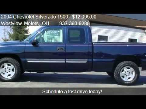 2004 Chevrolet Silverado 1500 Lt Ext Cab Short Bed 4wd