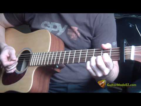 Rod Stewart - Ooh La La Guitar Lesson