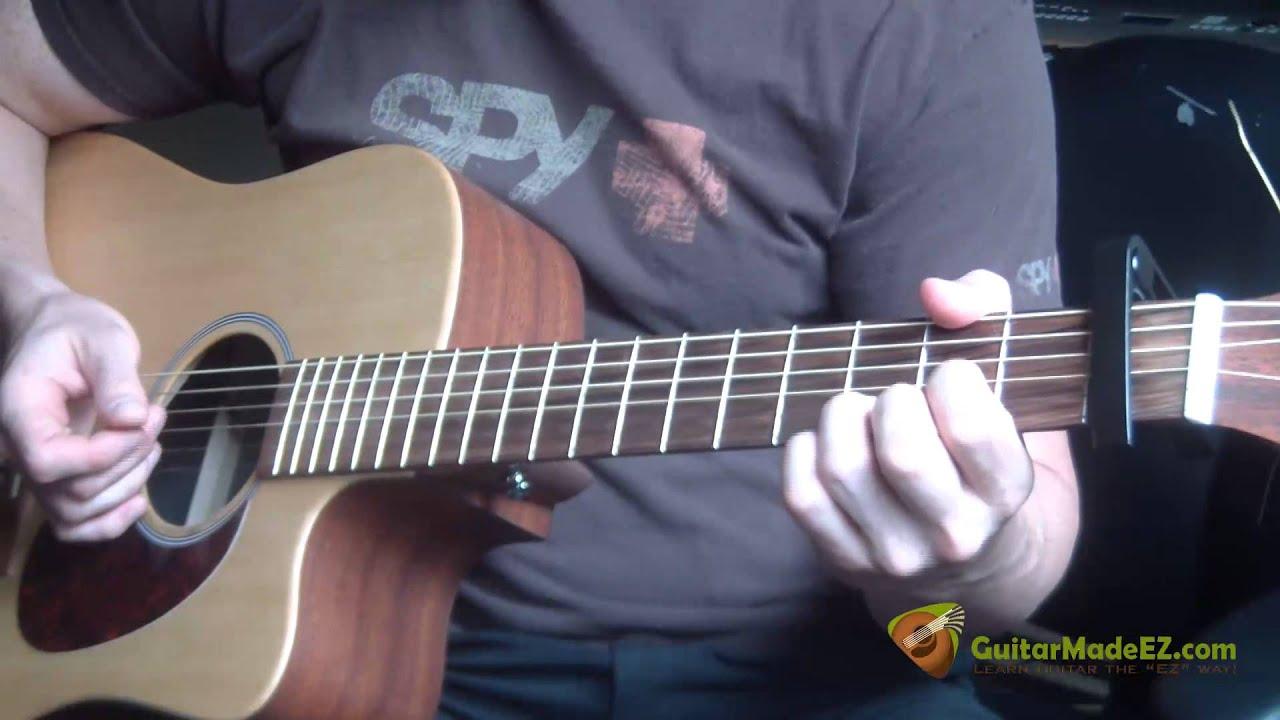 Rod Stewart Ooh La La Guitar Lesson Youtube