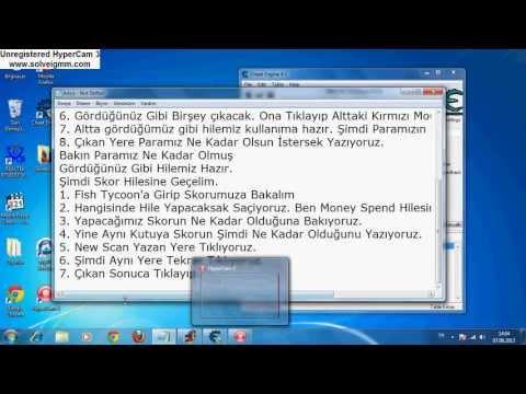 Fish Tycoon Money Score Speed Hack Cheat Engine