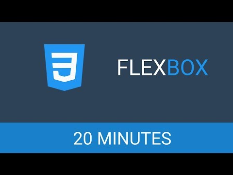 Learn Flexbox In 20 Minutes | Learn HTML & CSS | Flexbox Tutorial