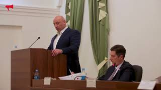 Выступление кандидата в мэры Владивостока, Чемериса Игоря Святославовича