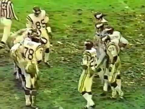 1977 NFC Division Playoff Minnesota Vikings @ Los Angeles Rams