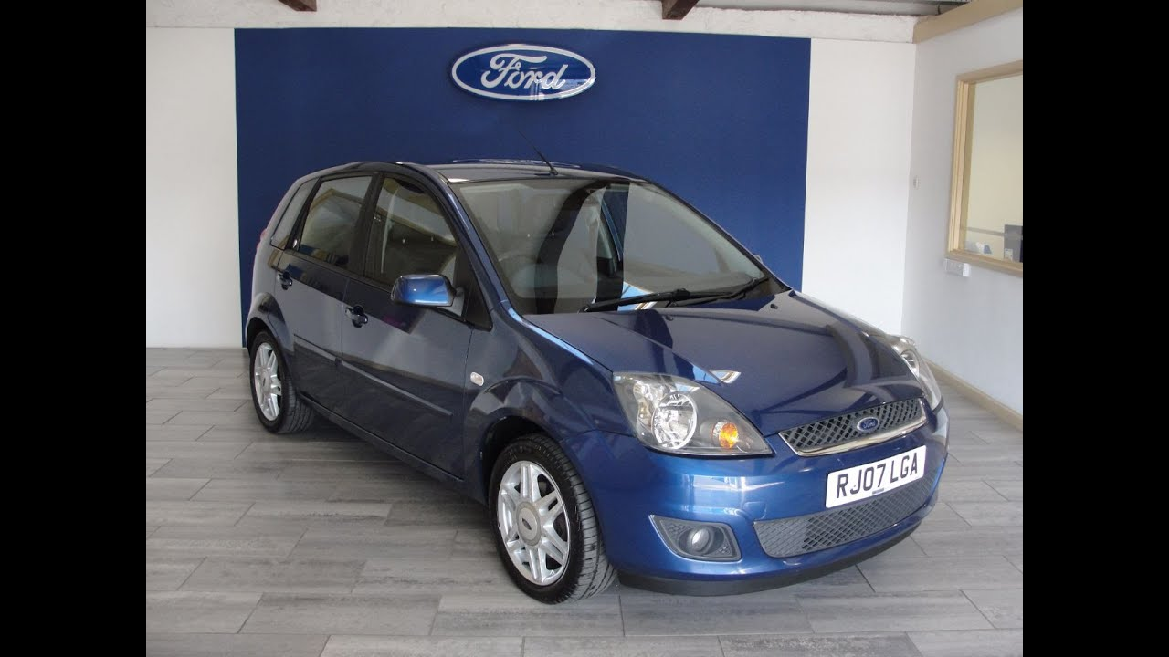 2007 ford fiesta 1 4 ghia 5dr now sold youtube. Black Bedroom Furniture Sets. Home Design Ideas