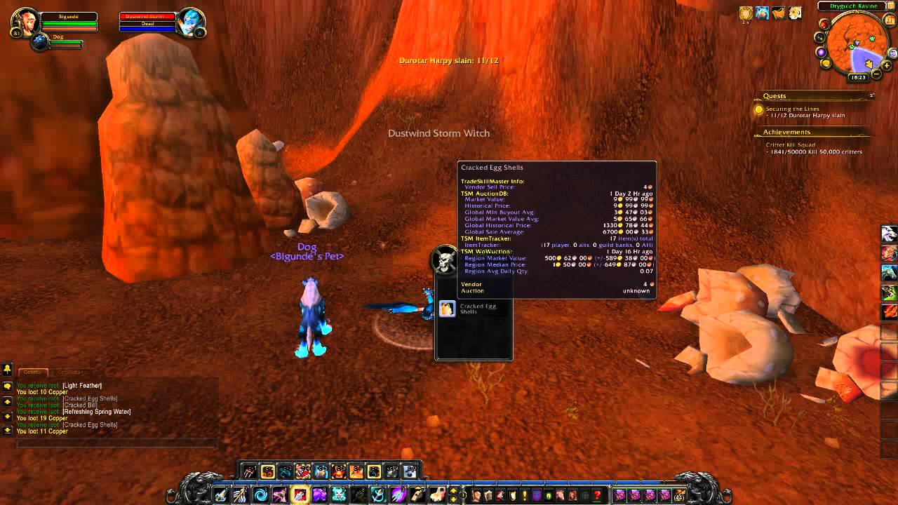 Quest Securing The Lines In Wow