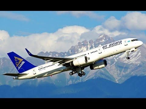 Air Astana   B737 & B757 & FK50