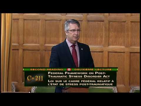 Speech on Bill C-211: Federal Framework on PTSD Act - Lloyd Longfield, MP Guelph