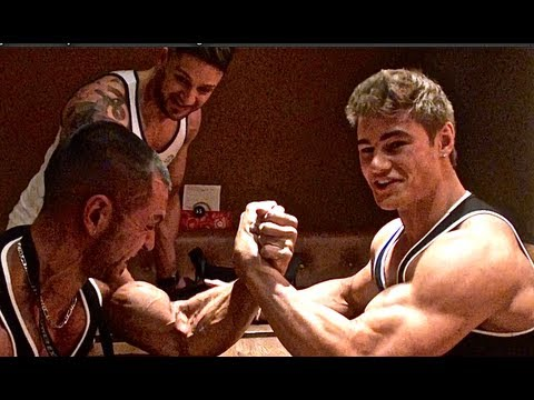 Alon Gabbay vs Jeff Seid Arm wrestling