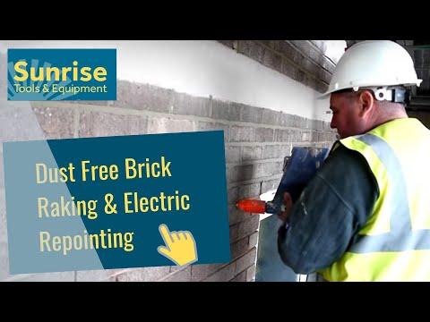Dust Free Brick Raking & Electric Repointing